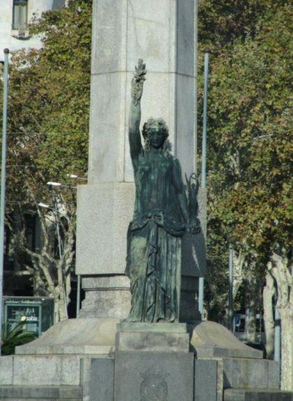 'La Victòria', de Frederic Marès