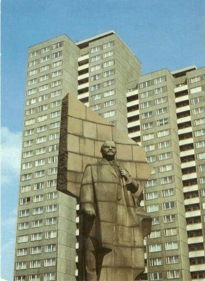 Estàtua de Lenin situada a l'antiga Leninplatz de Berlín