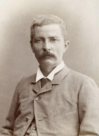 Retrat de Henry Morton Stanley, d'Emile Reutlinger