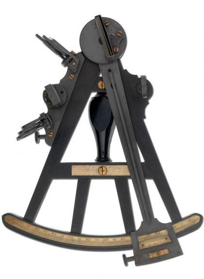Un dels octants utilitzats pel capità Cook