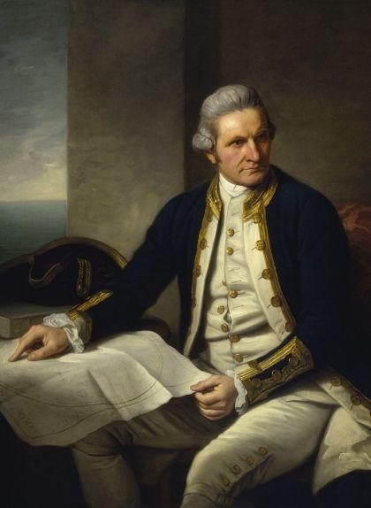 Retrat del capità Cook