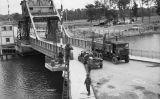 El pont Pegasus el 9 de juny de 1944, dies després d'haver estat capturat