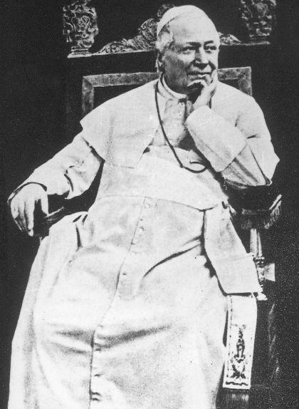 Retrat del papa Pius IX