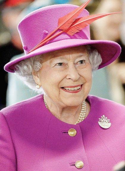 Elisabet II del Regne Unit, el març de 2015
