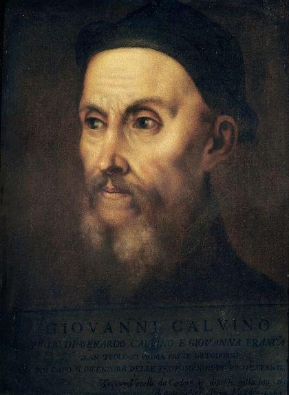 Retrat de Joan Calví, obra de Ticià