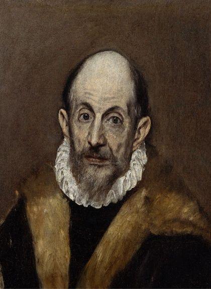 Retrat de Domínikos Theotokópoulos, 'El Greco'
