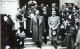 Visita del president de la Generalitat de Catalunya Lluís Companys a l'Institut Escola M. B. Cossío