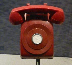 Telèfon vermell de l'època de Jimmy Carter, una representació de la comunicació directa entre els Estats Units i la Unió Soviètica