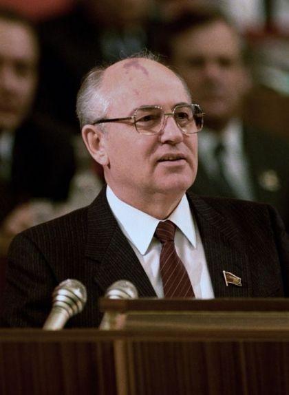 Mikhaïl Gorbatxov, president del Partit Comunista de la Unió Soviètica i líder de l'URSS