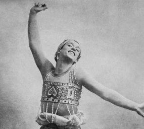 Vaslav Nijinski ballant la suite simfònica Shéhérazade