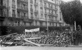 Barricades a Alger durant la guerra d'independència d'Algèria, el gener de 1960
