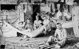 Cuina improvisada del campament militar espanyol a Cienfuegos