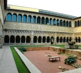 Claustre romànic del monestir de Sant Cugat del Vallès