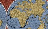El mapa 'Orbis terrae compendiosa descriptio' (1587), del cartògraf flamenc Gerardus Mercator