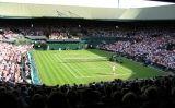 Pista central de Wimbledon durant un partit l'any 2005