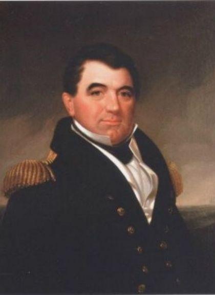 Retrat de Jordi Farragut, el pare de David Glasgow Farragut
