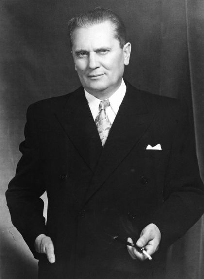 Retrat del president iugoslau Josip Broz 'Tito'