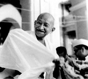 Mahatma Gandhi l'any 1942
