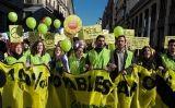 Manifestació de Greenpeace a Madrid