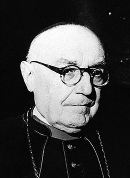 Fotografia d'Enric Pla i Deniel, el teòleg de la 'cruzada'