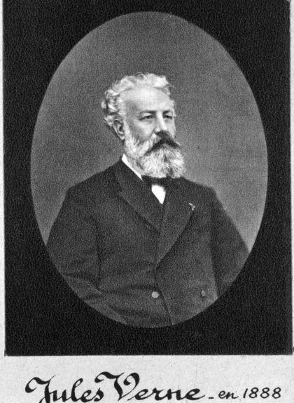 Retrat de Jules Verne