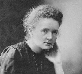 Retrat de Marie Curie després de guanyar el premi Nobel de Química l'any 1911