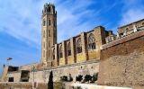 La Seu Vella de Lleida vista des del Canyeret