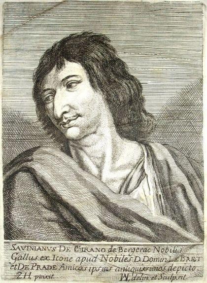 Retrat de Savinien Cyrano de l'any 1654