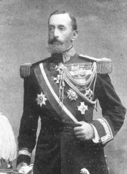 Retrat de Joaquim Milans del Bosch, capità general de Catalunya
