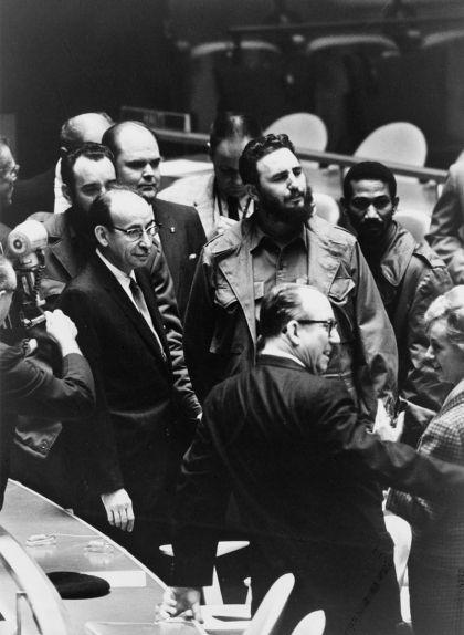 Fidel Castro durant una Assemblea General de l'ONU el 22 de setembre de 1960