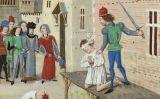 Execució d'Olivier IV de Clisson, el marit de la 'Lleona Sanguinària'
