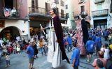 Ball de gegants a la Festa Major de Castelló d'Empúries
