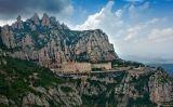 La muntanya i el monestir de Montserrat
