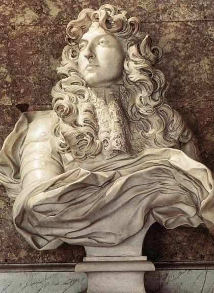 Bust de Lluís XIV, obra de Gianlorenzo Bernini