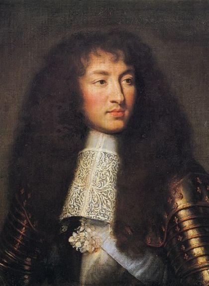 Retrat de Lluís XIV de Charles Le Brun de l'any 1661