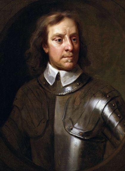 Retrat d'Oliver Cromwell fet per Samuel Cooper