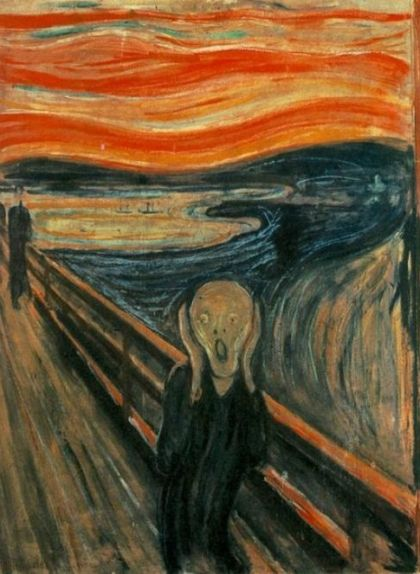 'El crit', d'Edvard Munch (1893)