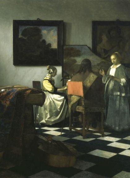 'El concert' (c. 1664), del pintor barroc Vermeer de Delft