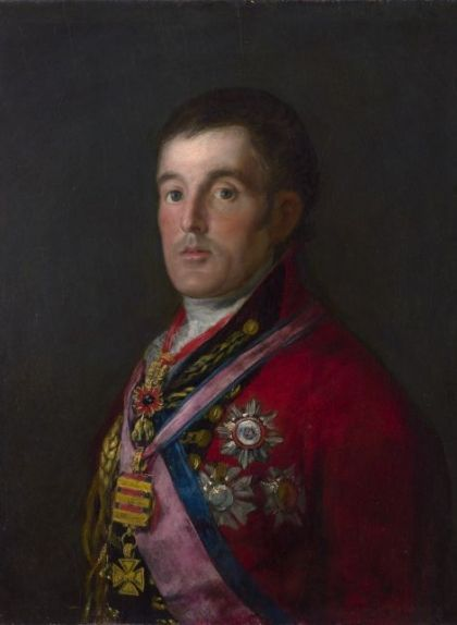 'Retrat del duc de Wellington' (1812-1814), de Francisco de Goya