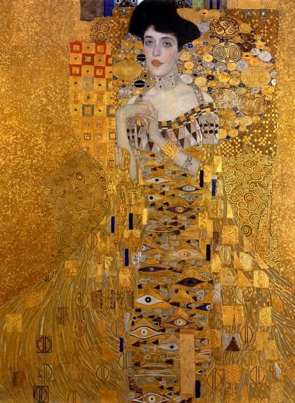 'Retrat d'Adele Bloch-Bauer I' (1907), de Gustav Klimt