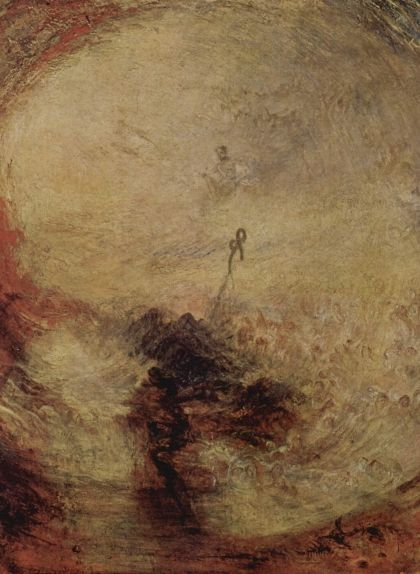'Light and colour. The morning after the deluge' (1843), de Joseph Turner