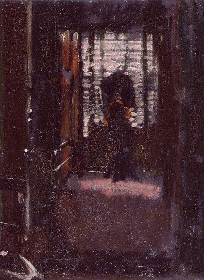 L'habitació de Jack l'Esbudellador, un quadre de Walter Sickert