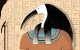 Déu Thot (Il·lustració del número 8 del Petit SÀPIENS)