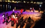 Espectacle de la Fira de Pirates i Corsaris a les illes Medes