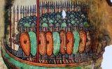 Gravat dels vikings en un drakar