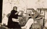 Lídia Noguer i Dalí a Cadaqués