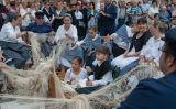 Els veïns de la Ràpita recreen la vida marinera de fa cent anys