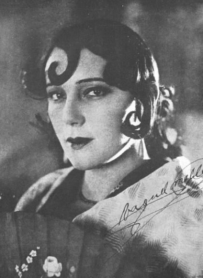 La cantant aragonesa Raquel Meller