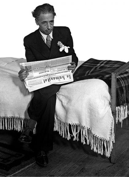 Lluís Companys a la presó Model de Madrid el 1935
