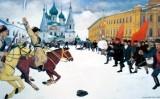 'Diumenge sagnant a Iaroslavl', pintura de A. I. Malygin del 1929